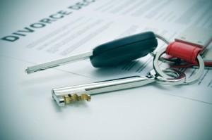 divorce dividing property
